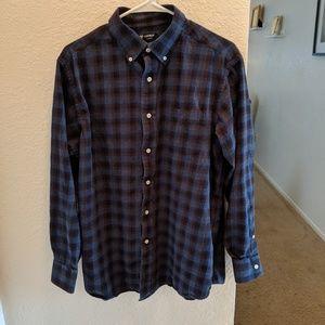 Men's Cremieux Flannel Shirt sz Large